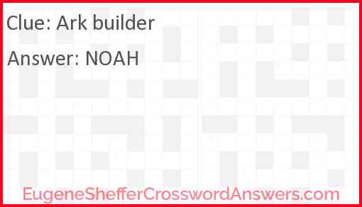 Ark builder Answer