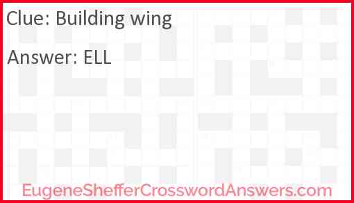 Building wing Answer