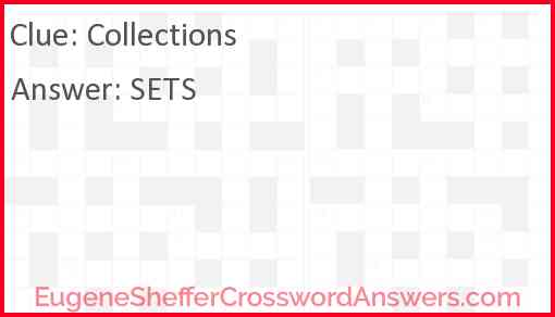 Collections Answer