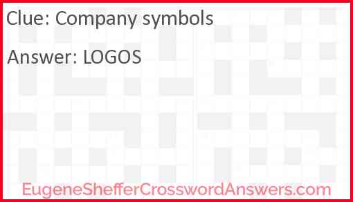 Company symbols Answer