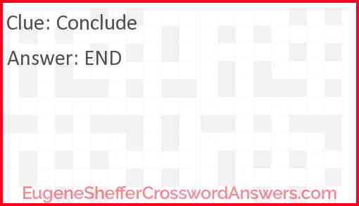 Conclude Answer