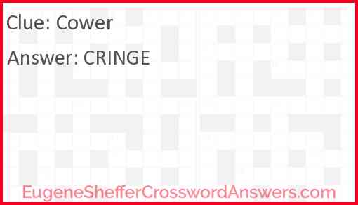 Cower Answer