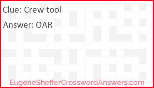 Crew tool Answer