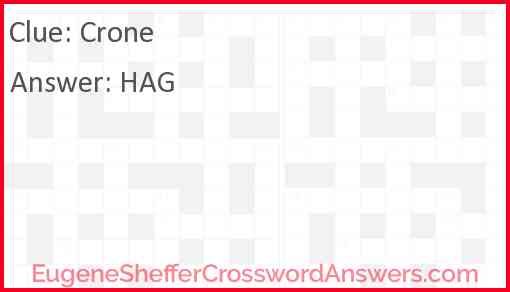 Crone Answer