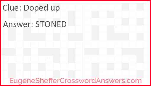 Doped up Answer