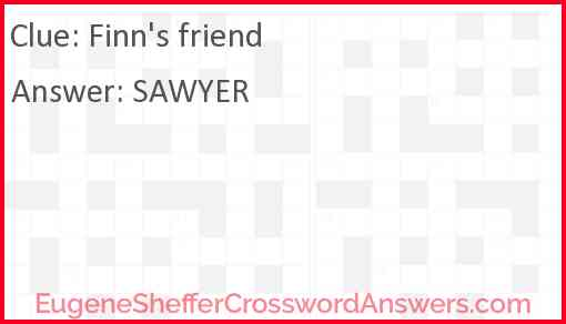 Finn's friend Answer