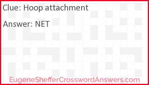 Hoop attachment Answer