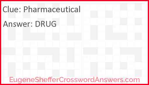 Pharmaceutical Answer
