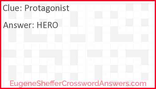 Protagonist Answer