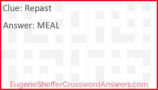 Repast Answer