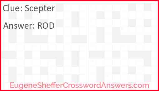 Scepter Answer