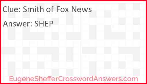 Smith of Fox News Answer