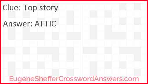 Top story Answer