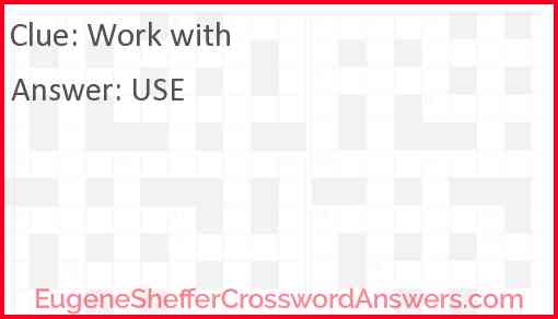 Work with Answer
